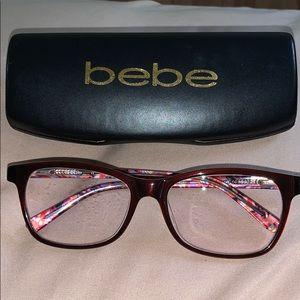 Women's BEBE Zylo Plastic Eyeglass Frame